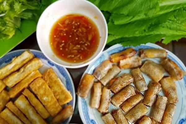 Cách làm chả ram tôm đất Bình Định - Chả giò rế miền Trung