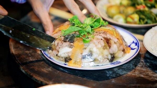 Trang trí món thịt ba chỉ nấu đông như thế nào cho đẹp?