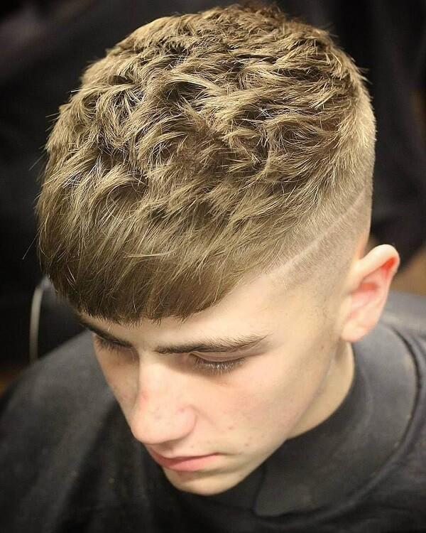 Kiểu tóc Textured - Bí ẩn và quyến rũ