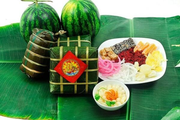Hình ảnh những món ăn mang lại may mắn dịp Tết của người châu Á