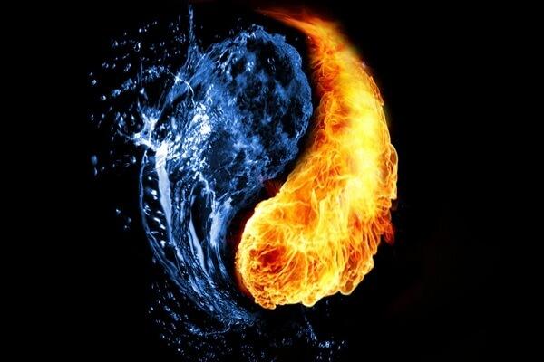 Kiêng cho nước, lửa