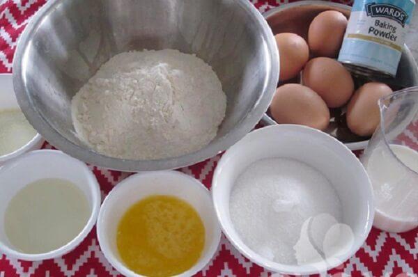 Nguyên làm phần vỏ bánh sầu riêng