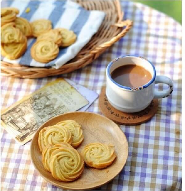 Cách làm bánh quy bơ thơm ngon tại nhà
