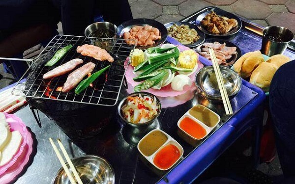 Quán lẩu nướng sinh viên Hà Nội - Reng nướng - Cầu Vồng, Đức Thắng, Từ Liêm