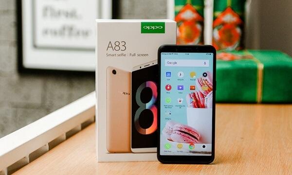 Điện thoại chụp hình OPPO A83.
