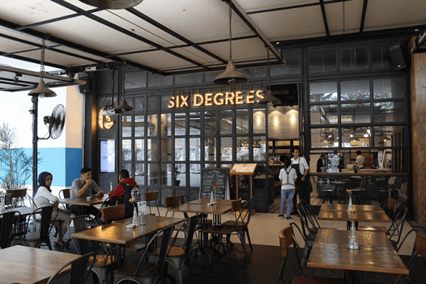 Quán 6 Degrees Cafe 1