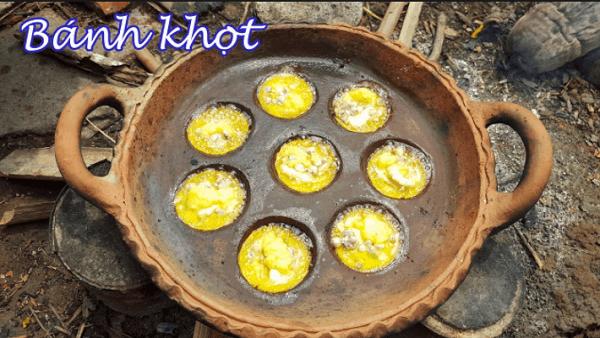 Cách làm bánh khọt (Ảnh sưu tầm)