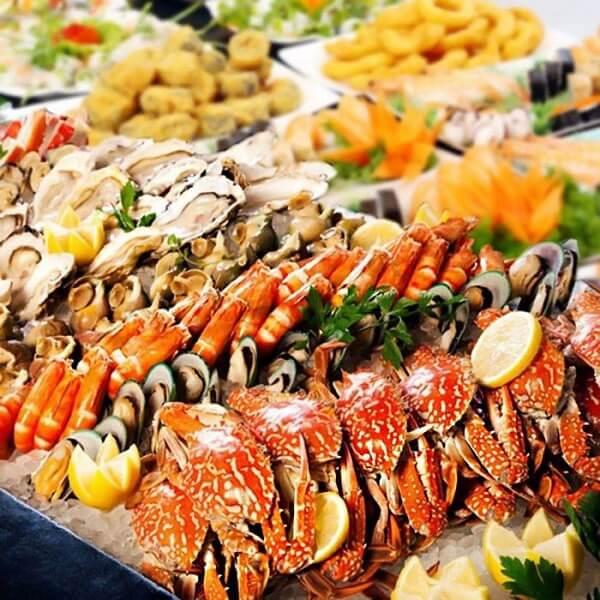 Vũng Tàu là nơi có nhiều món hải sản tươi ngon (Ảnh sưu tầm)