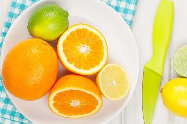 Trung bình một trái cam có thể cung cấp khoảng 50mcg axit folic cho cơ thể