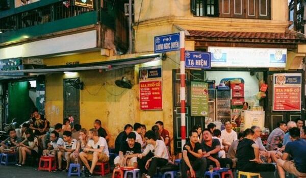 Tạ Hiện – Khu phố ăn nhậu về đêm