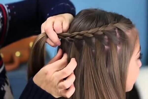 Tóc tết Milk Braid - Kiểu tóc không mái