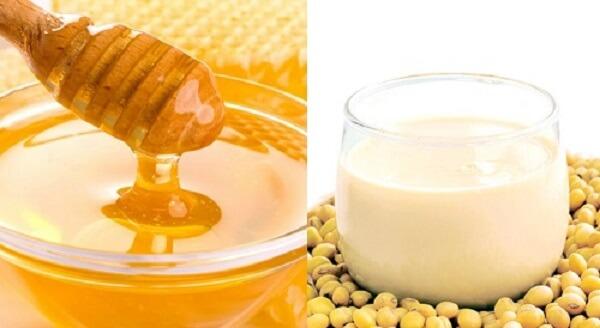 Mật ong và sữa đậu nành