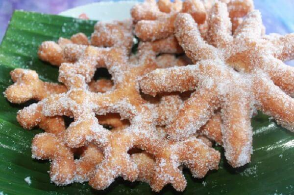 Dân tộc Chăm và Khmer - Bánh gừng truyền thống