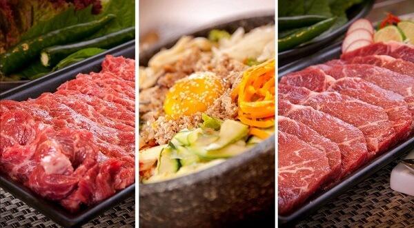Massageishealthy khuyên các bạn khi đến King BBQ, nhất định phải thử món thịt bò Mỹ.