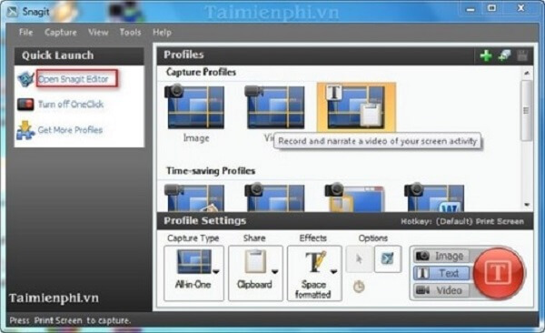 Snagit cũng là một sản phẩm đến từ TechSmith.