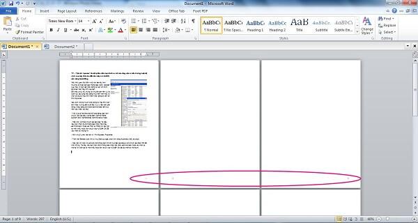 4 cách đánh số trang trong word 2010, 2013 theo ý muốn từ trang đầu tiên hoặc trang bất kỳ 9
