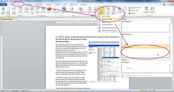 4 cách đánh số trang trong word 2010, 2013 theo ý muốn từ trang đầu tiên hoặc trang bất kỳ 6