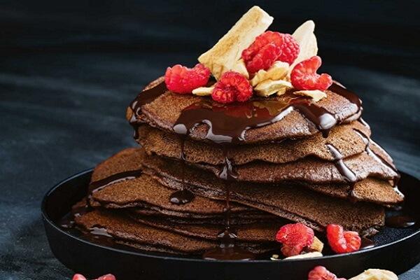 Pancake Chocolate – Món bánh thơm ngon, lạ vị - Cách làm bánh Pancake Chocolate bằng chảo chống dính đơn giản