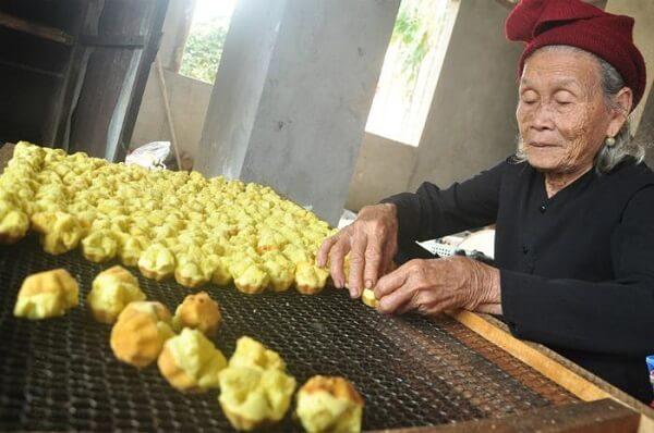 Món bánh thuẫn mang hương vị ngày Tết truyền thống