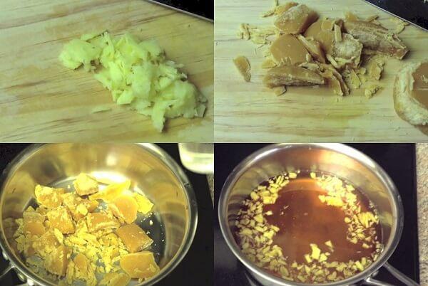 Cách làm phần nước đường cho bánh trôi nước
