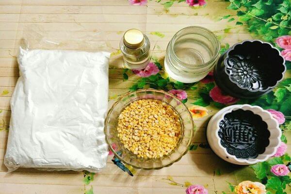 Nguyên liệu làm bánh trung thu dẻo – cách làm bánh trung thu