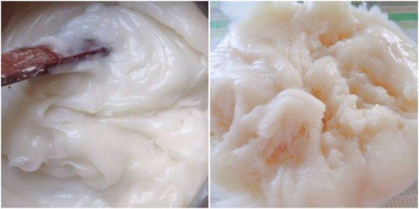 Nhào bột làm vỏ bánh – cách làm bánh trung thu dẻo nhân đậu xanh