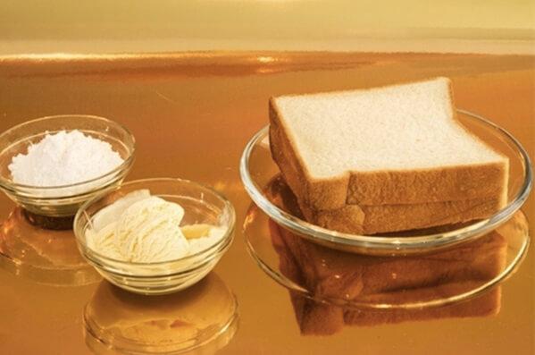 Cách làm bánh mì Sandwich tại nhà bằng bột mì và bột nở