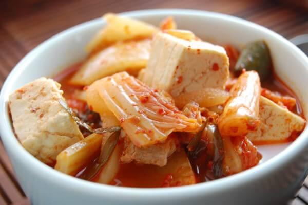 Canh kim chi – cách nấu canh kim chi