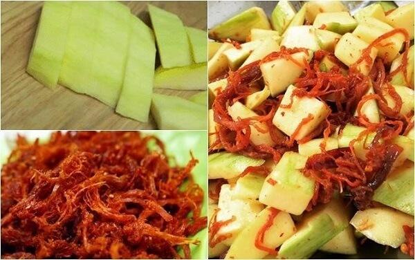 Cách làm xoài dầm bò khô, món ăn vặt ngon đúng điệu Sài Gòn.