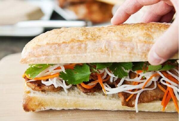 Bánh mì kẹp thịt Việt Nam nổi tiếng thế giới