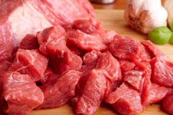 Nguyên liệu làm thịt bò khô miếng