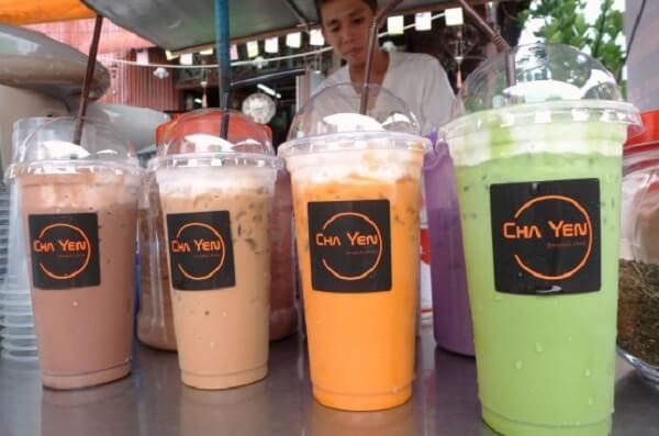 """Trà sữa Thái Lan có tên gọi rất hay """"Cha Yen"""""""