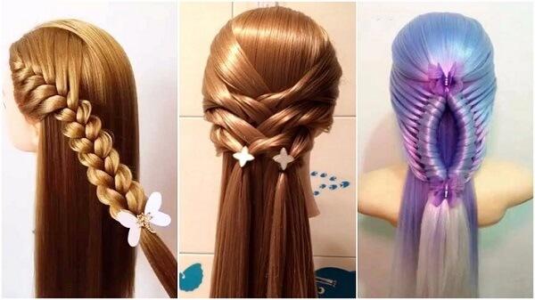 4 cách tết tóc đơn giản mà đẹp: tết tóc xương cá, tóc đuôi ngựa, tóc đuôi sam cho bé gái