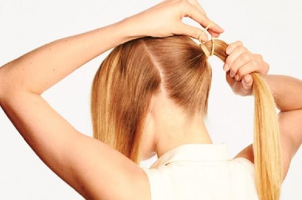 4 cách tết tóc đơn giản mà đẹp: tết tóc xương cá, tóc đuôi ngựa, tóc đuôi sam cho bé gái 3