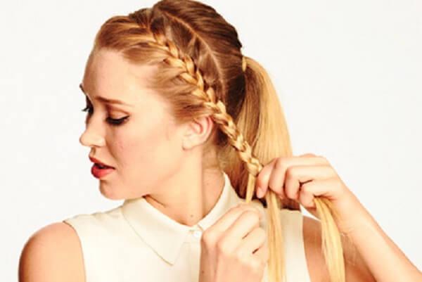 4 cách tết tóc đơn giản mà đẹp: tết tóc xương cá, tóc đuôi ngựa, tóc đuôi sam cho bé gái 5