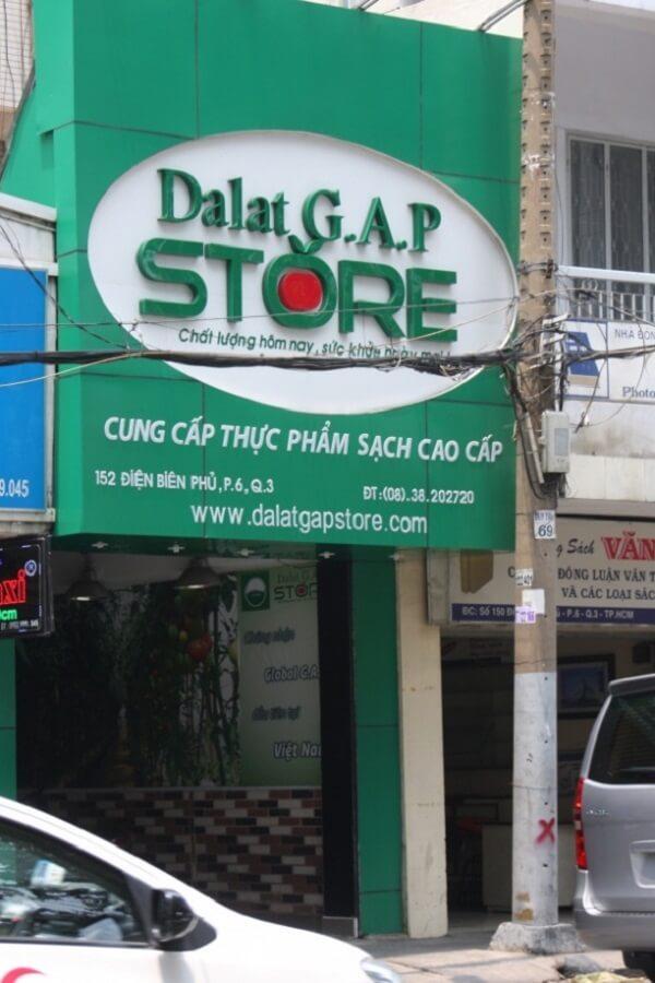 Cửa hàng rau sạch Đà Lạt GAP Store