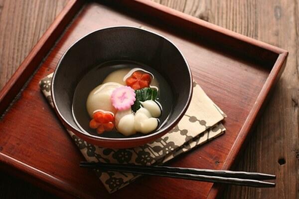 Món Zoni thường được ăn vào ngày đầu năm mới