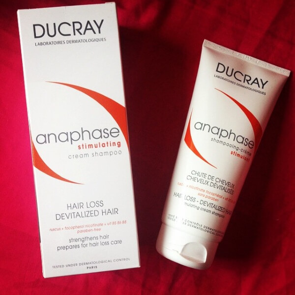 Dầu gội ngăn rụng tóc Ducray Anaphase Stimulating Cream Shampoo
