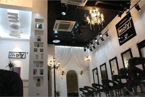 Tiệm cắt tóc Moly Hàn Quốc - Quận Từ Liêm