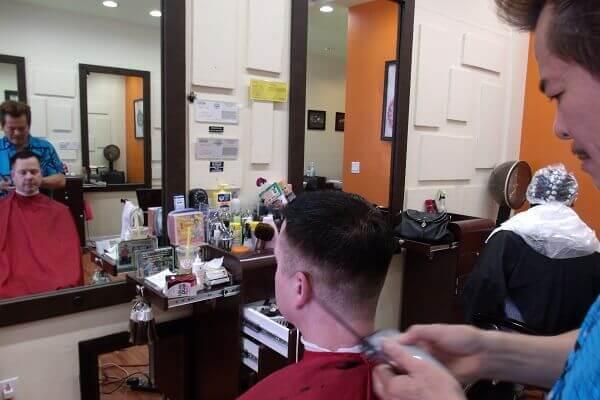 Chia sẻ kinh nghiệm và tư vấn mở tiệm cắt tóc nam nhỏ 2018
