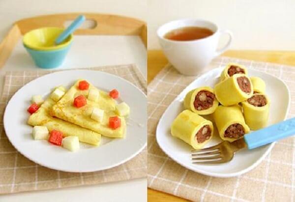 Món ăn vặt cho trẻ em từ rau củ quả