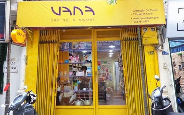 Cửa hàng đồ làm bánh VANA