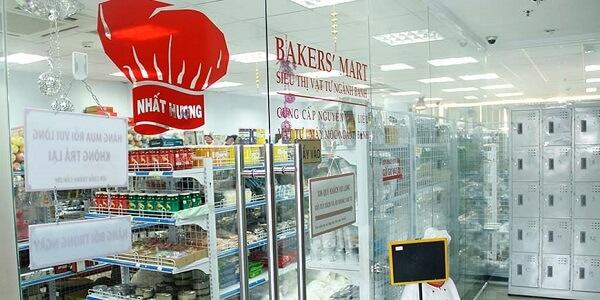 Siêu thị ngành bánh Baker's Mart Hà Nội.
