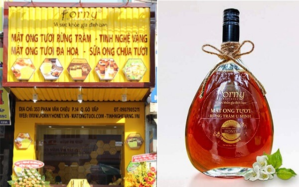 Mật ong rừng Forny Honey