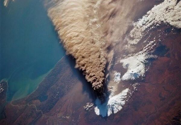 Đây là những gì phun trào ra từ núi lửa