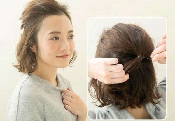 Cắt tỉa tóc.