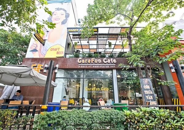 Quán Garafun café.