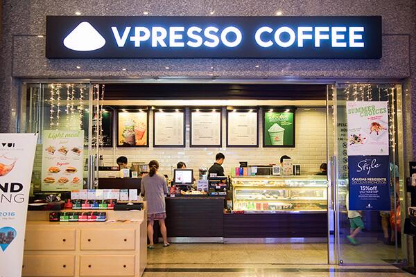 Quán Vpresso coffee.
