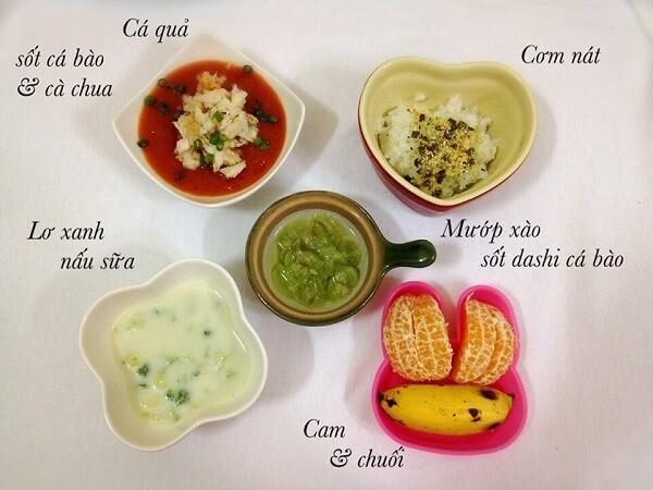 Mẹ hoàn toàn có thể kết hợp thực đơn ăn dặm kiểu Nhật kết hợp ăn dặm truyền thống