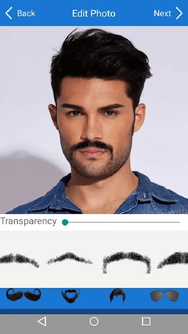 Men Mustache Beard Haircuts - Phần mềm chọn kiểu tóc phù hợp với khuôn mặt online, ứng dụng chọn mẫu tóc
